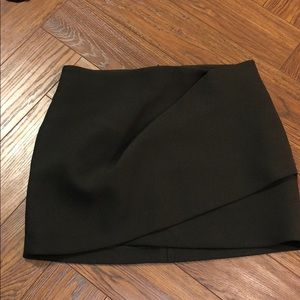 ZARA dark green  mini skirt